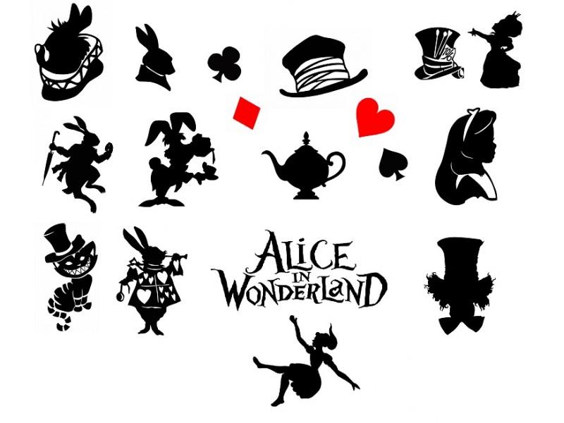 Алиса в стране чудес - графиче..