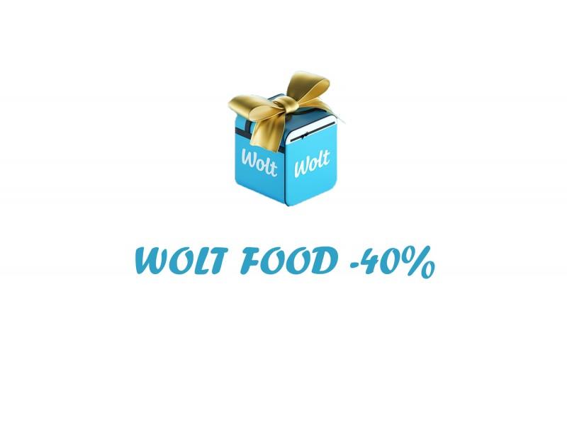 Купон на скидку от Wolt
